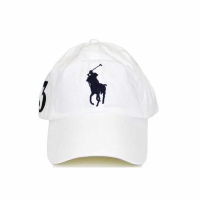casquette ralph lauren blanche
